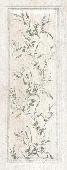7188 Кантри Шик белый панель декорированный
