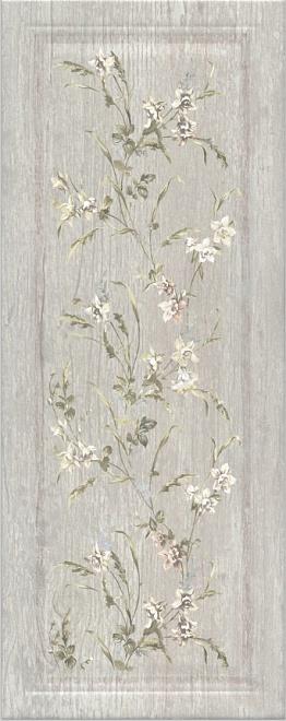 7189 Кантри Шик серый панель декорированный
